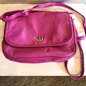 Francesca s magenta crossbody purse 1dbb45c697327